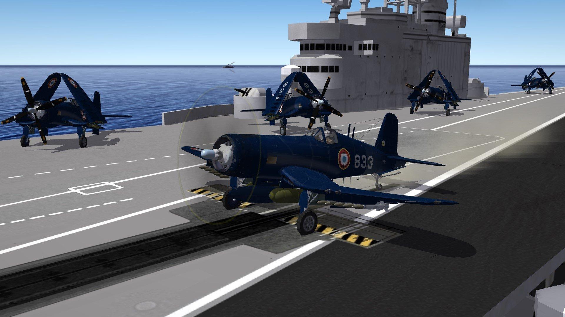 Vought AU-1  Corsair Aéronavale