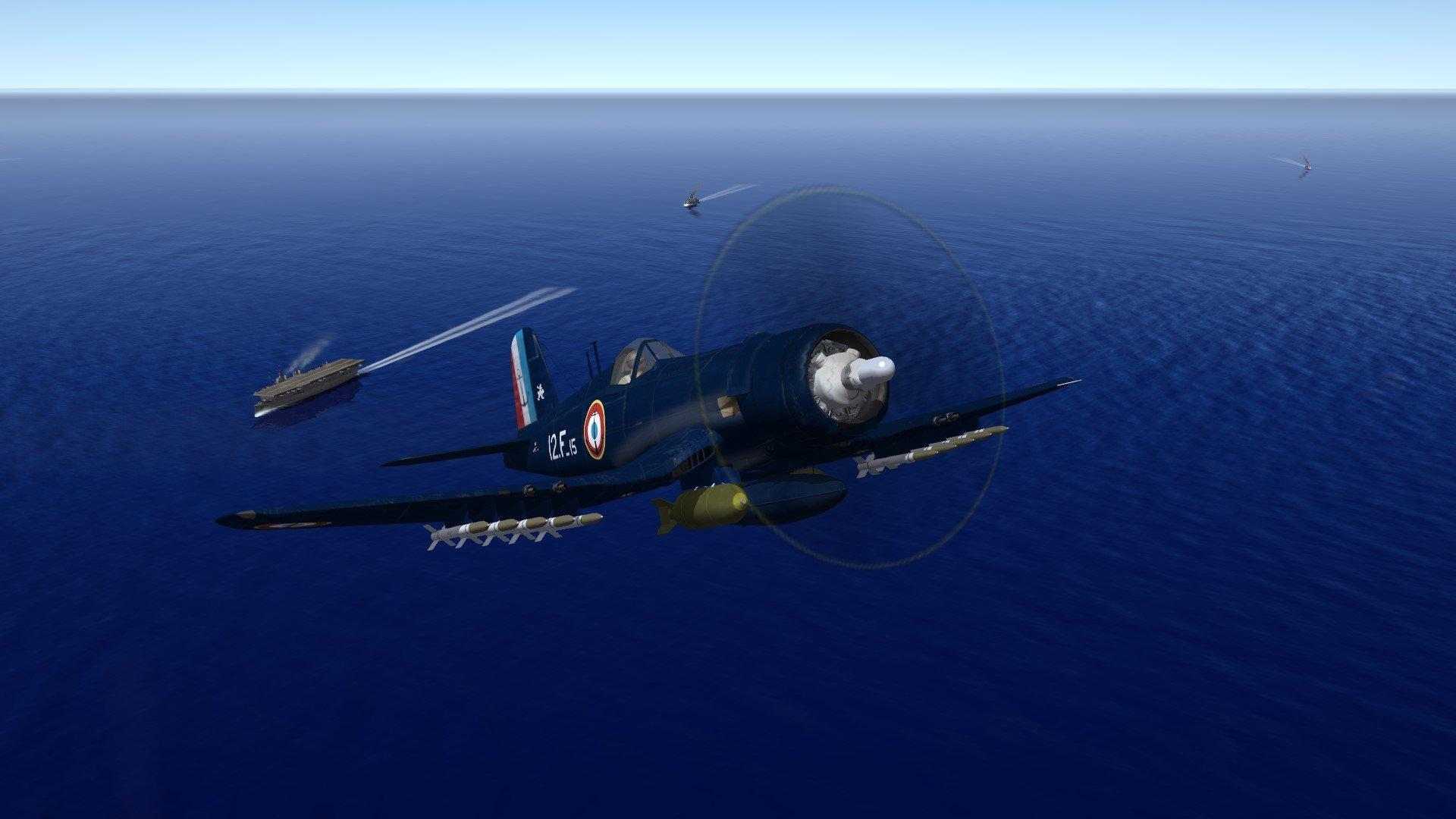 Vought F4U-7  Corsair Aéronavale