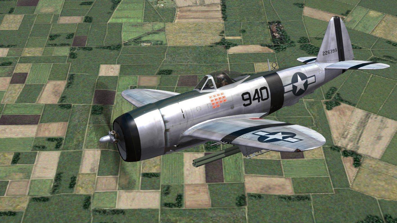 P-47D for CBI campaigns