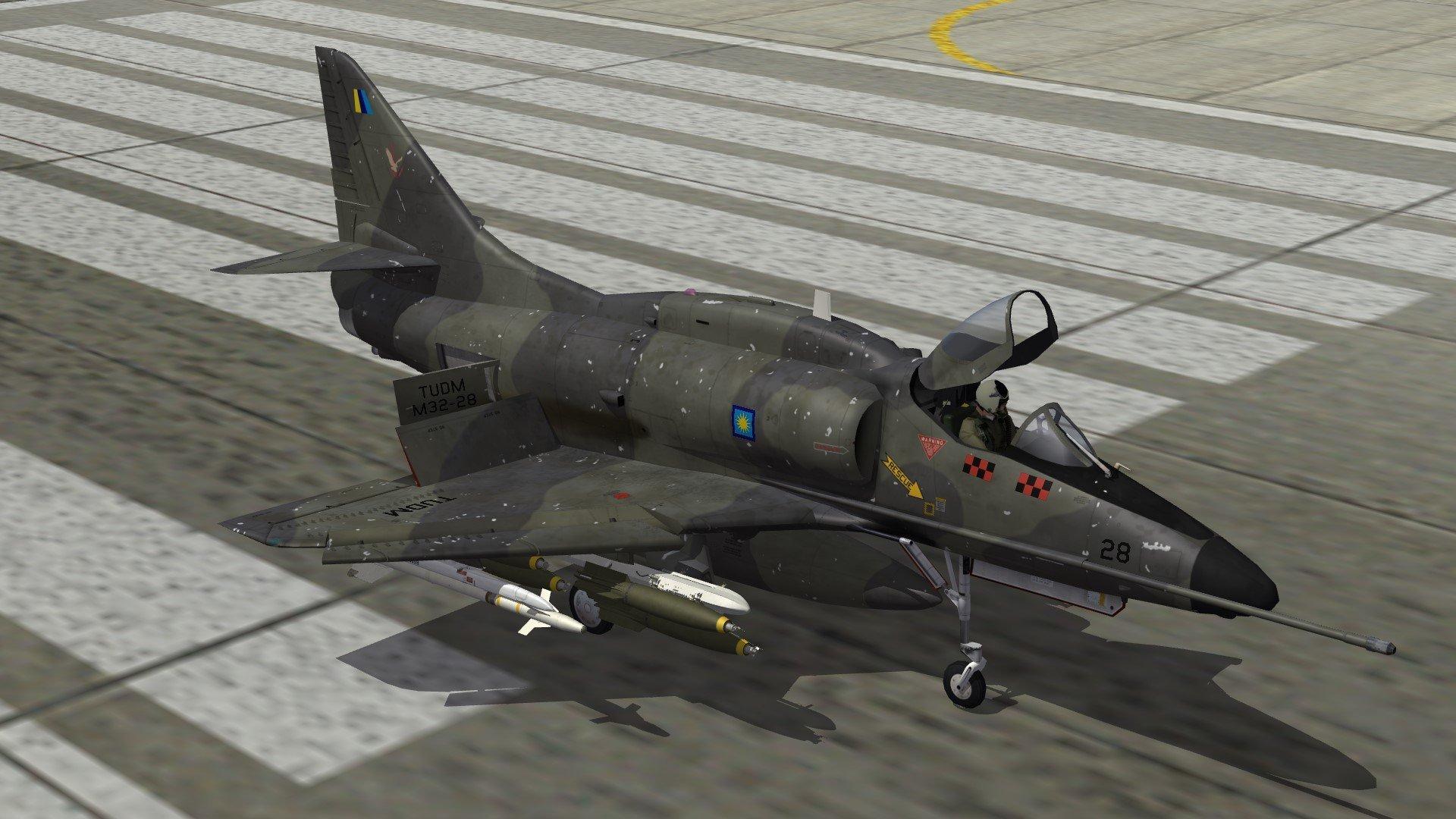 Malaysian Skyhawks - A-4PTM/TA-4PTM