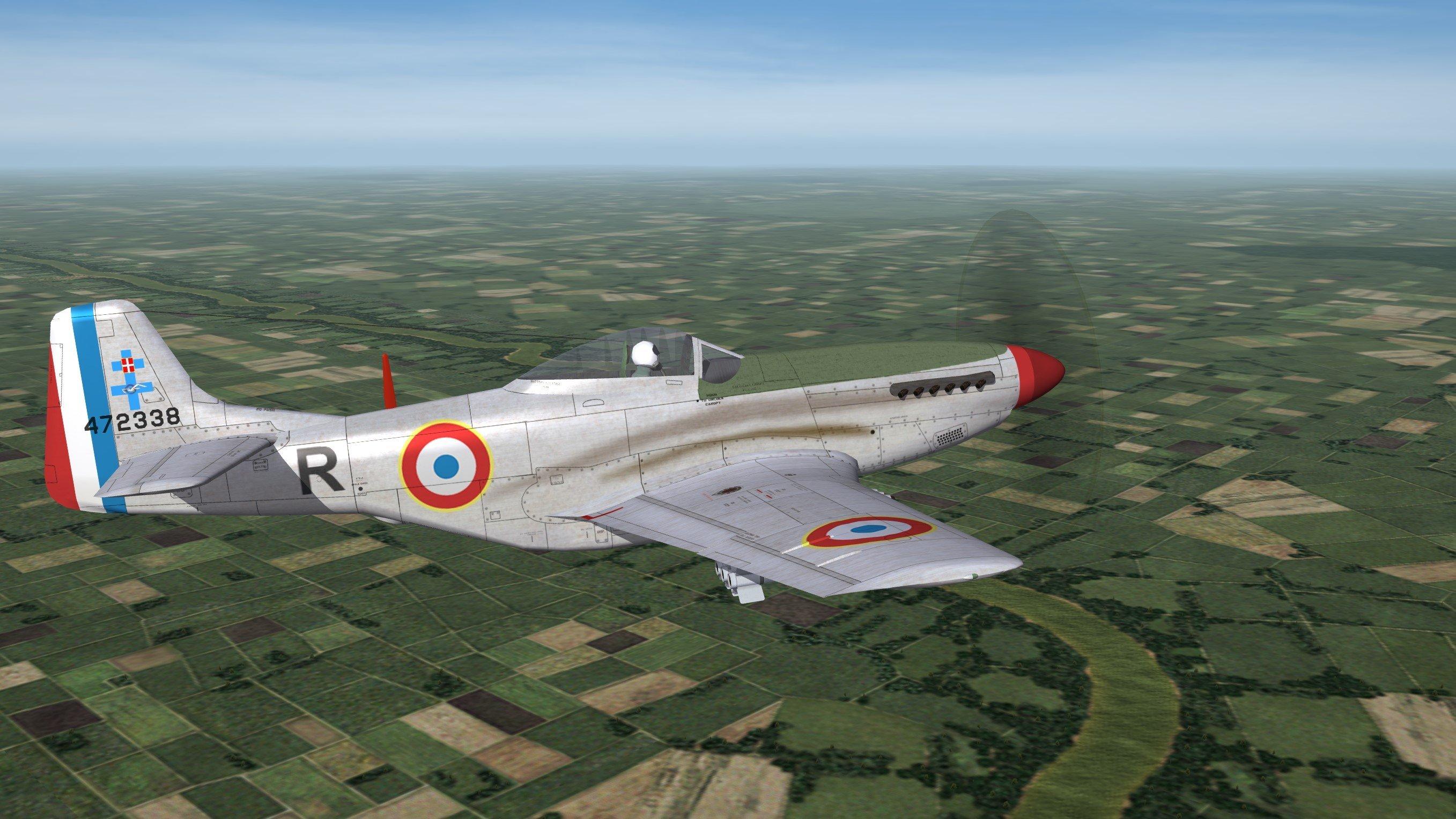 F-6D Mustang Armée de l'air (post WWII)