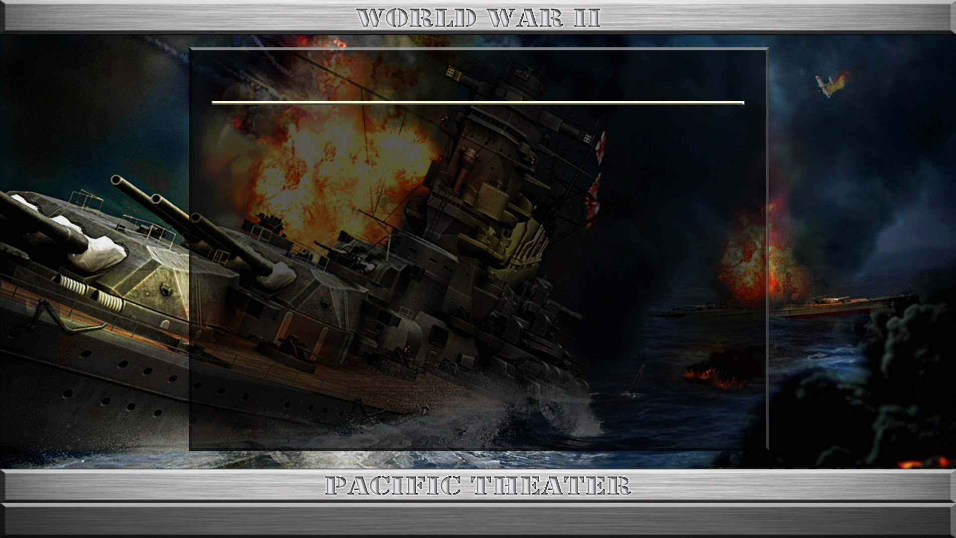 StrikeFighter2 World War II Pacific Theater (PTO) Hi-Res 1920x1080 Menu Screens and Music! Version 3