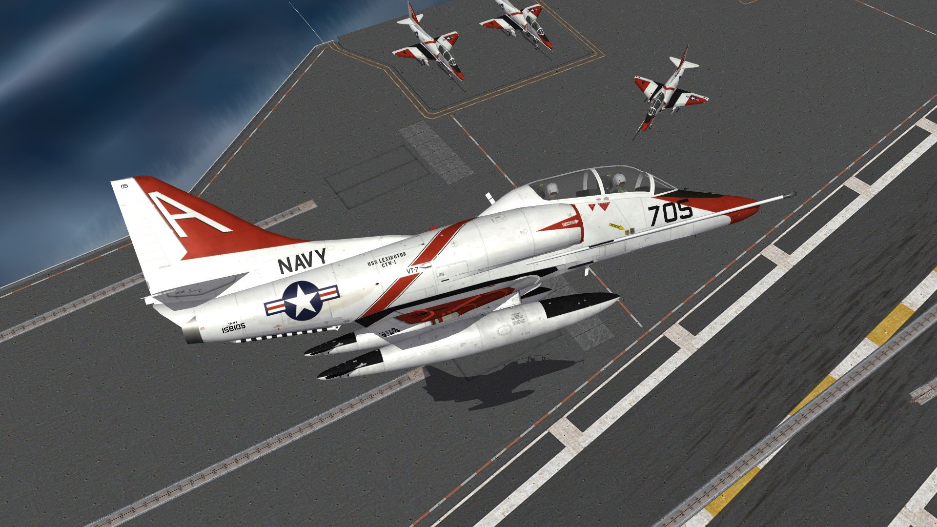 TA-4J Skyhawk UpdatePack for SF2