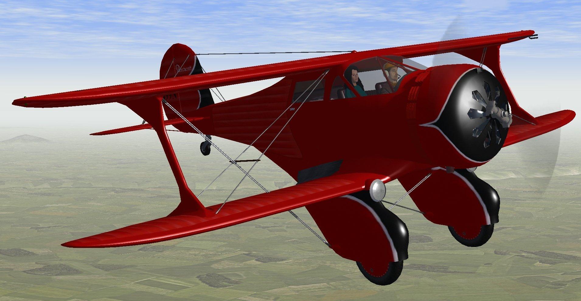 Beechcraft Staggerwing 17R