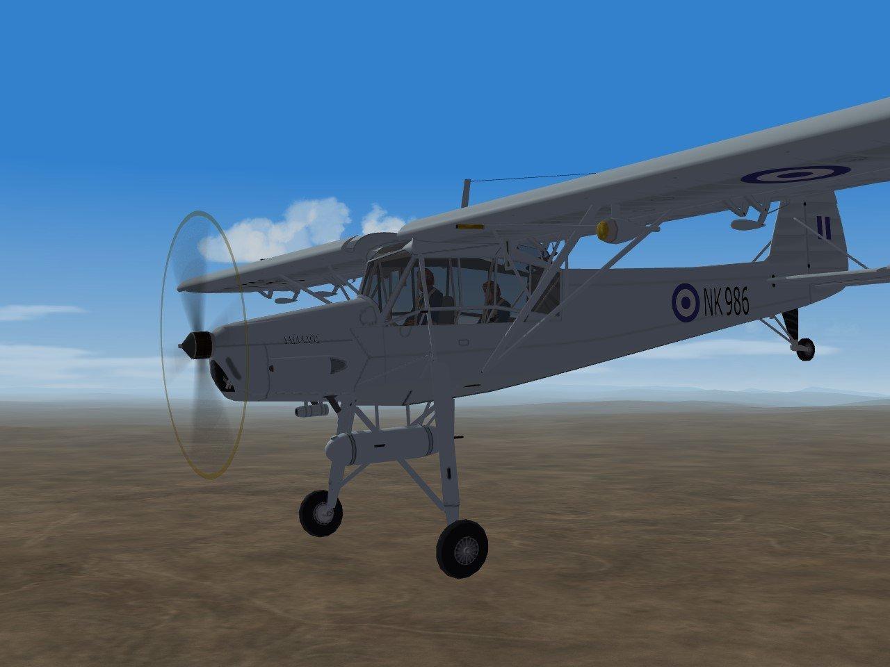 RHAF SF2 WW2 Fieseler Fi 156 'Storch