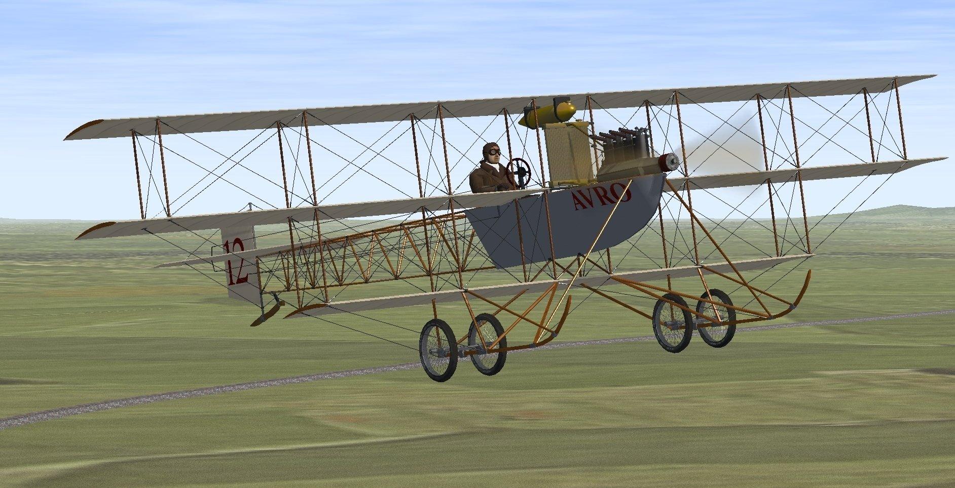 AVRO Tri-Plane