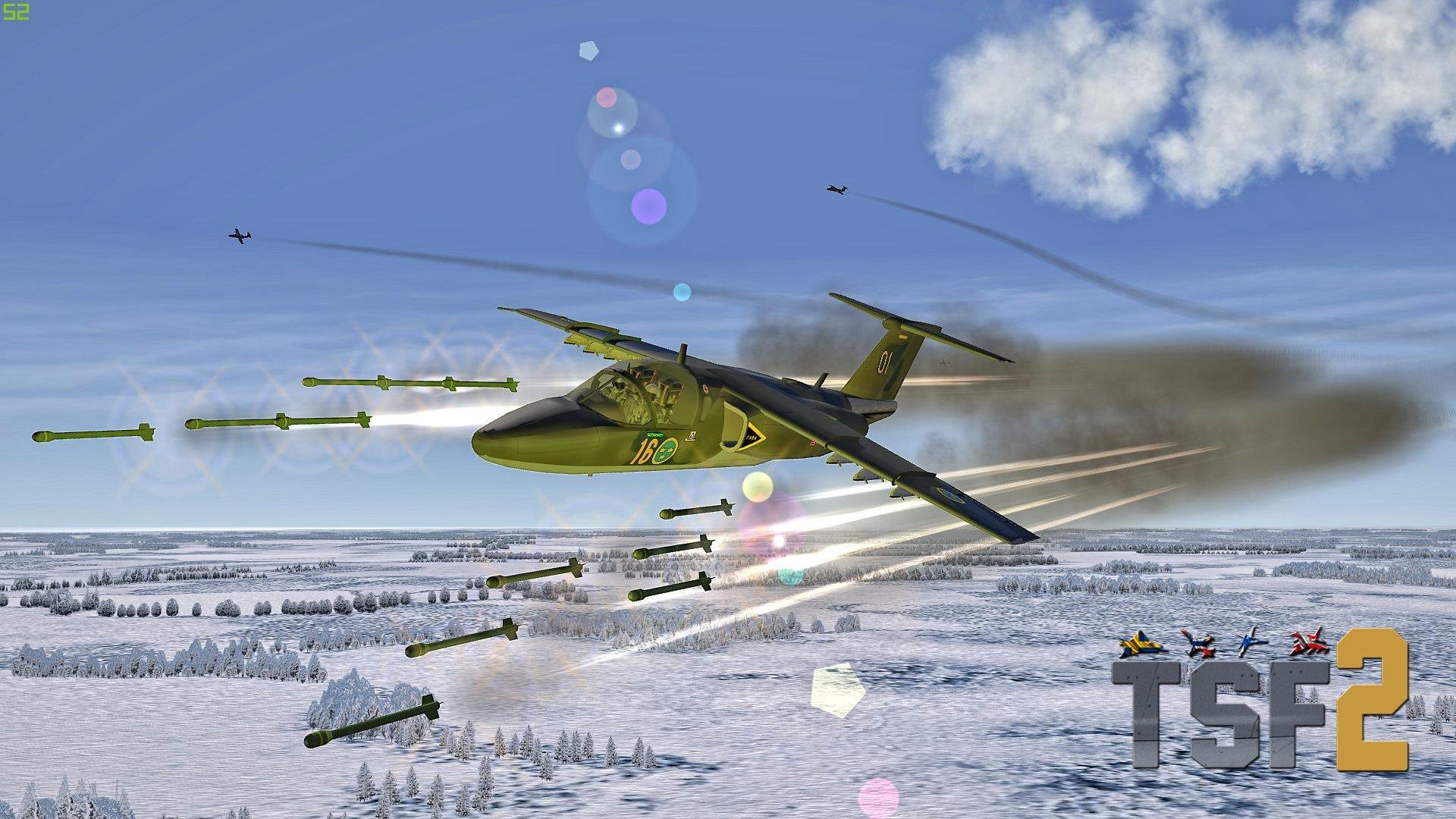 TSF Saab 105 (Sk 60) Flygvapnet Package