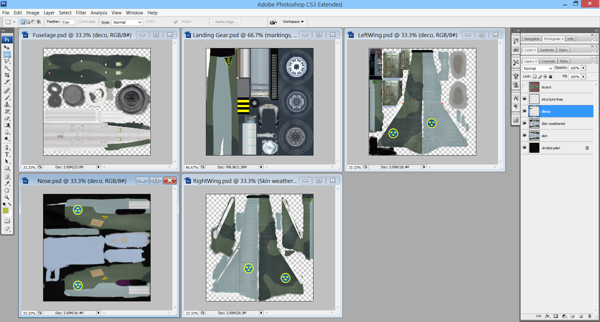 J-35 Draken Template (For Lud von Pipper / BPAO's J-35) - Re-Upload