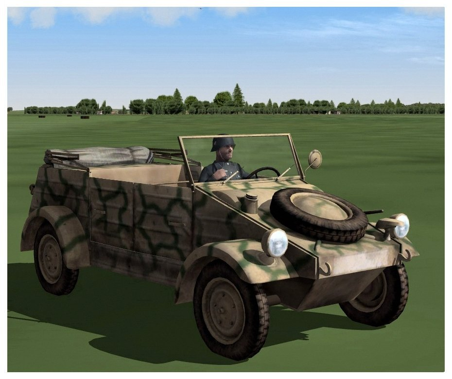 Volkswagen Type 82 Kübelwagen for SF2 V.1.01