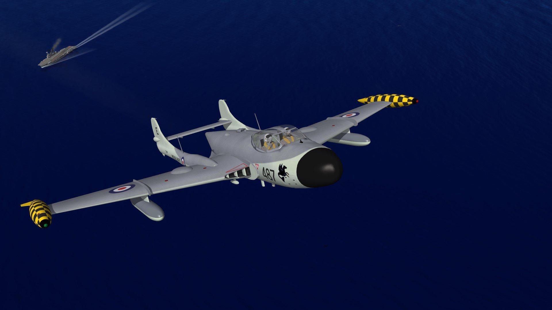 de Havilland Sea Venom FAW.21-22-ECM