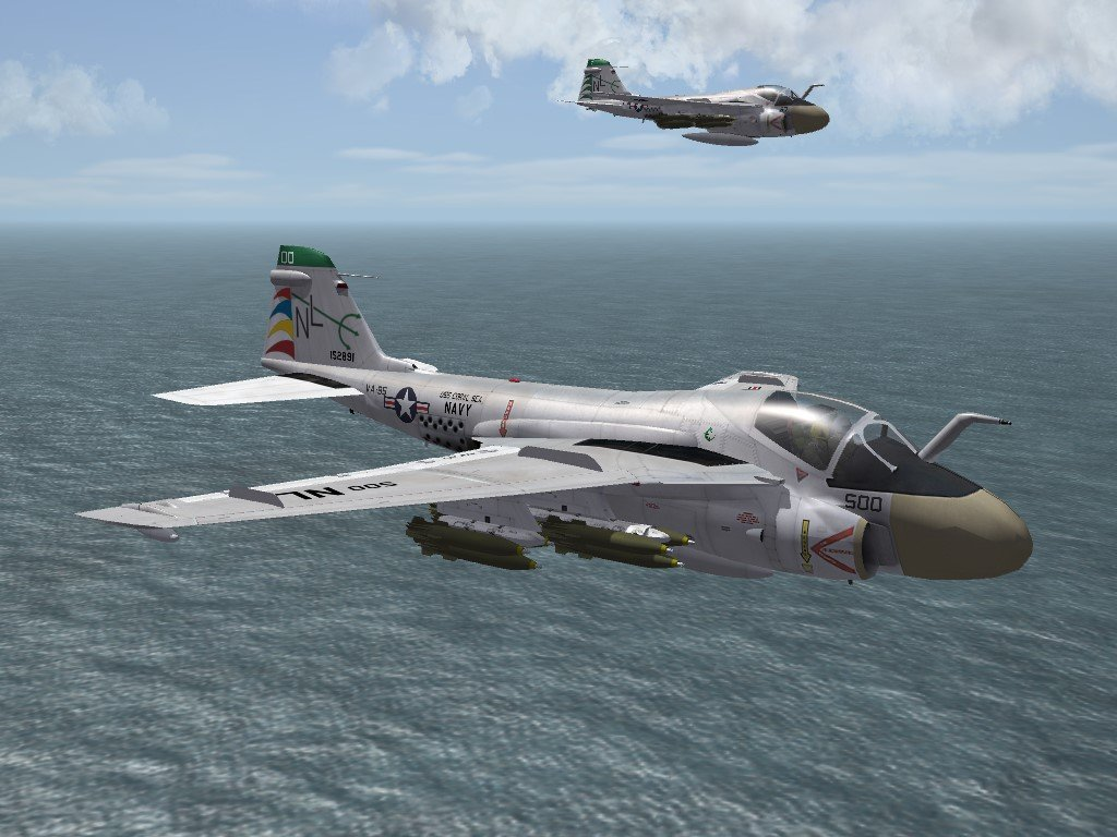 SF2 A-6A Intruder, VA-95 Skin/Decals Pack