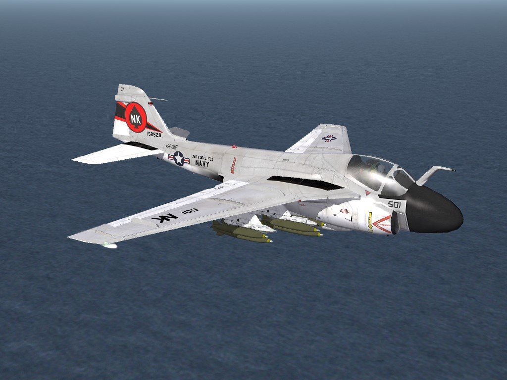 SF2 A-6E Intruder, VA-196 Skin/Decals Pack