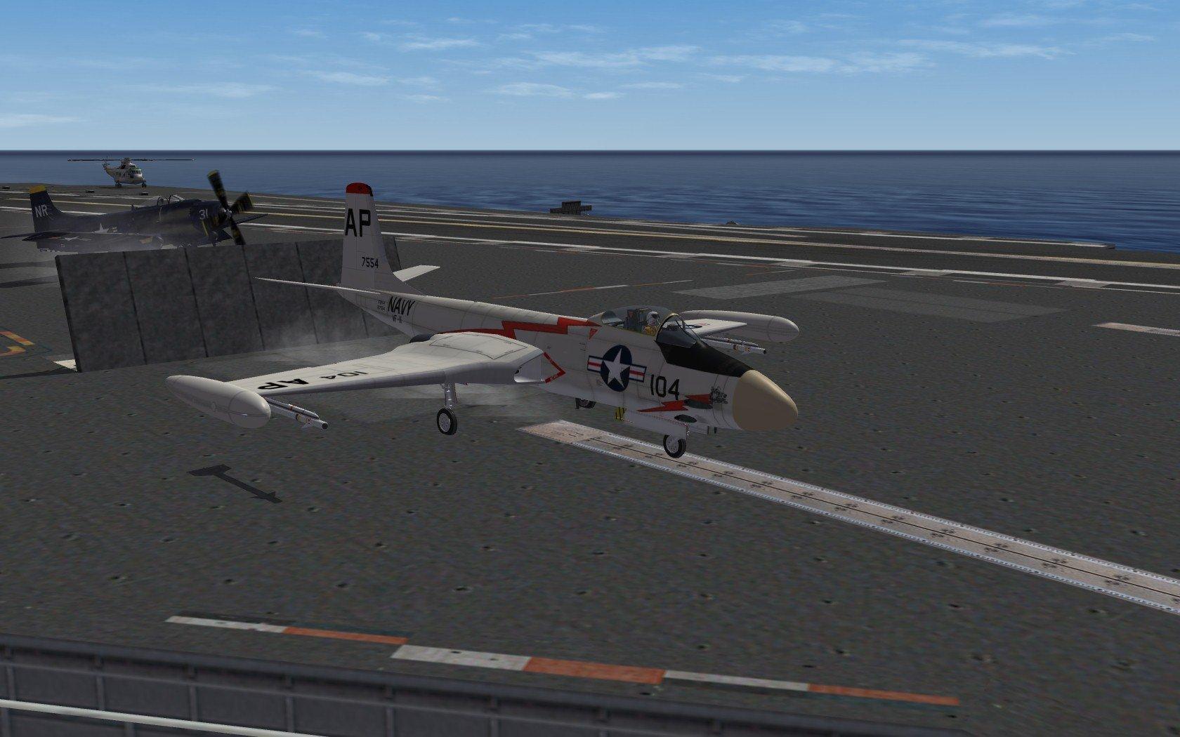 F-2H Banshee (Razbam) Updated data pack