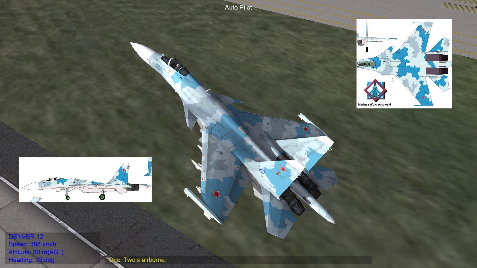 Su-27M T-10M (Original Su-37 Repainted)
