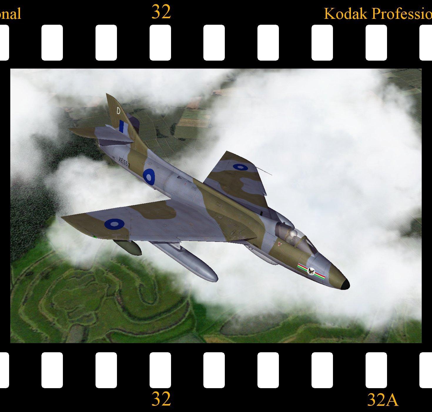 Hawker Hunter FGA.9 - RAF Far East Air Force