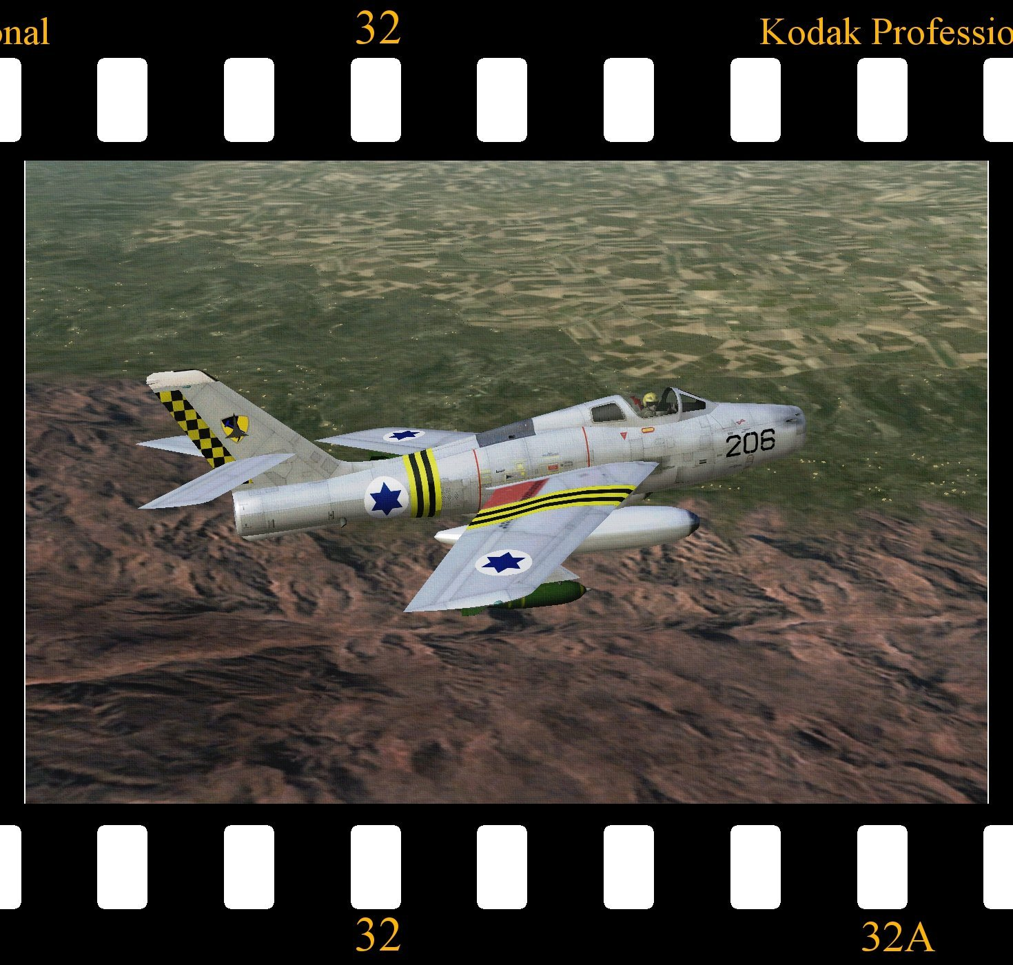 F-84I 'Sharav' for STRIKE FIGHTERS 1 (WOI c/w Add-On)