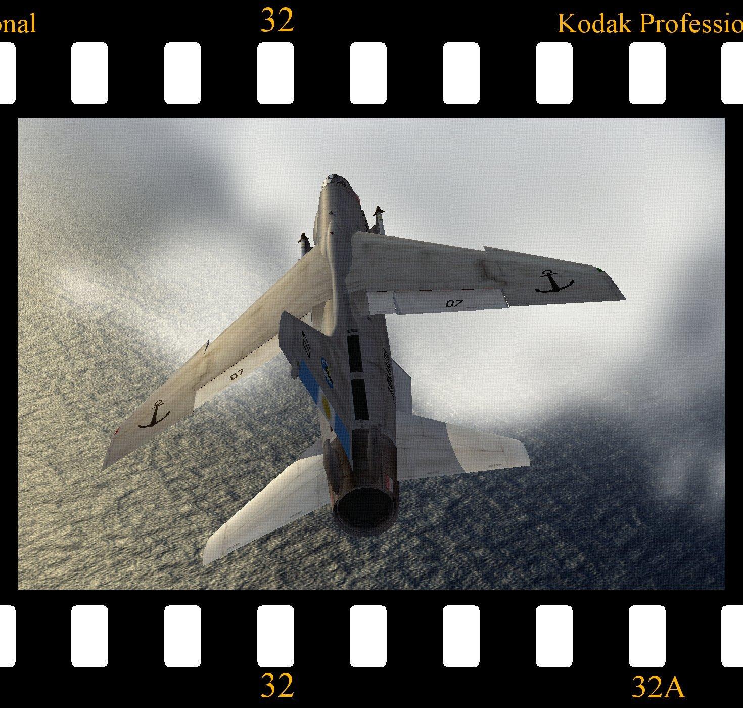F-8E Crusader - Comando de Aviación Naval Argentina