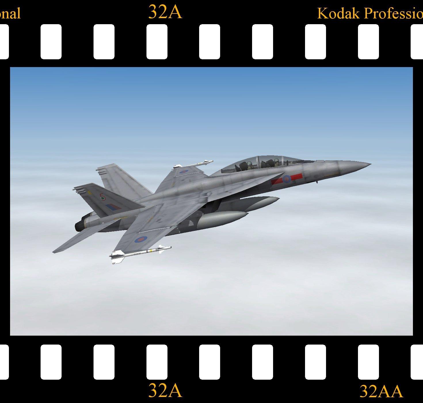 McDonnell Douglas Hornet F.2 (F/A-18F)