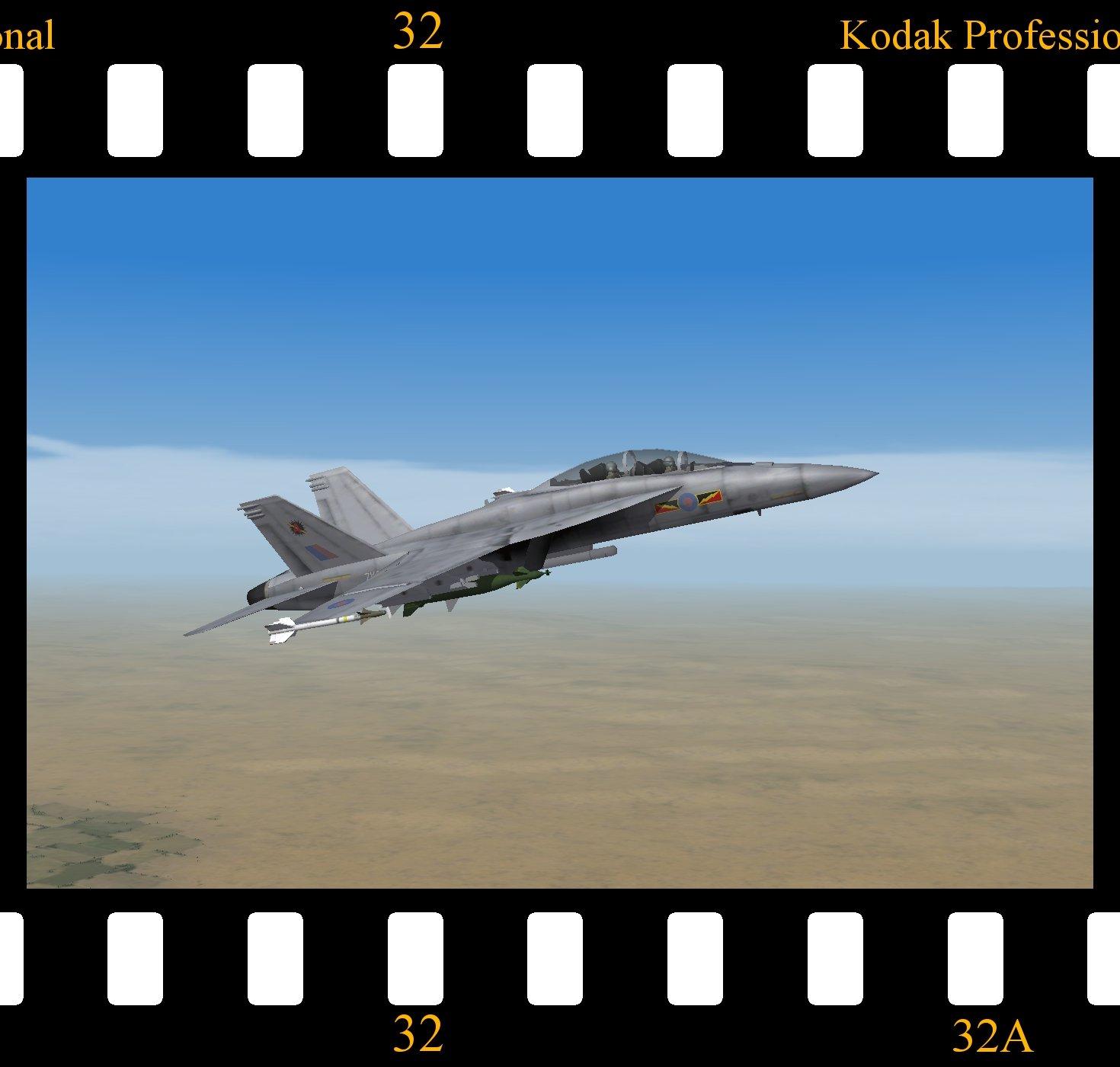 Hornet FGR.3 (F/A-18F) - RAF (No.4 squadron)