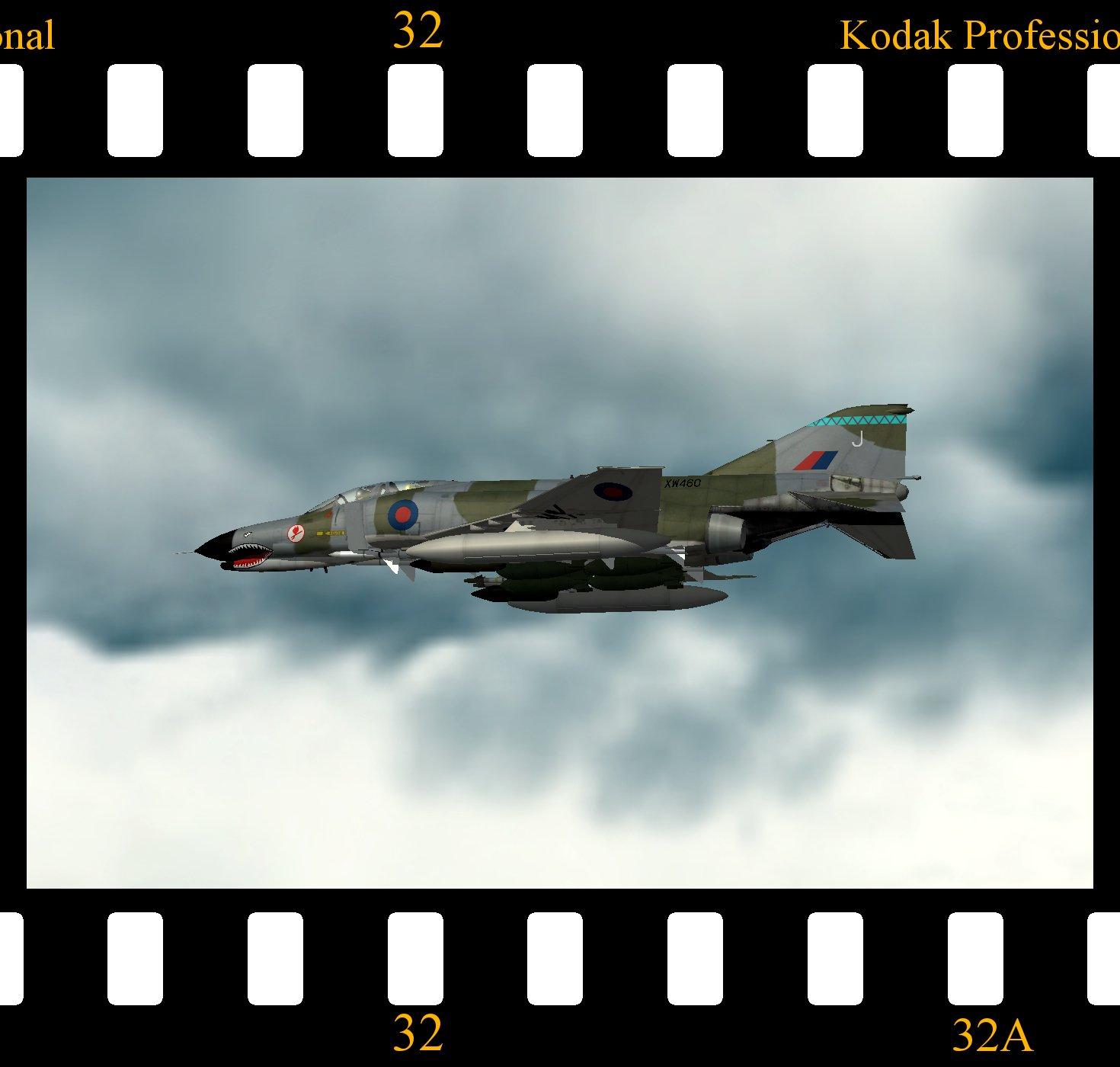RAF Phantom FGR.5 for Strike Fighters 1