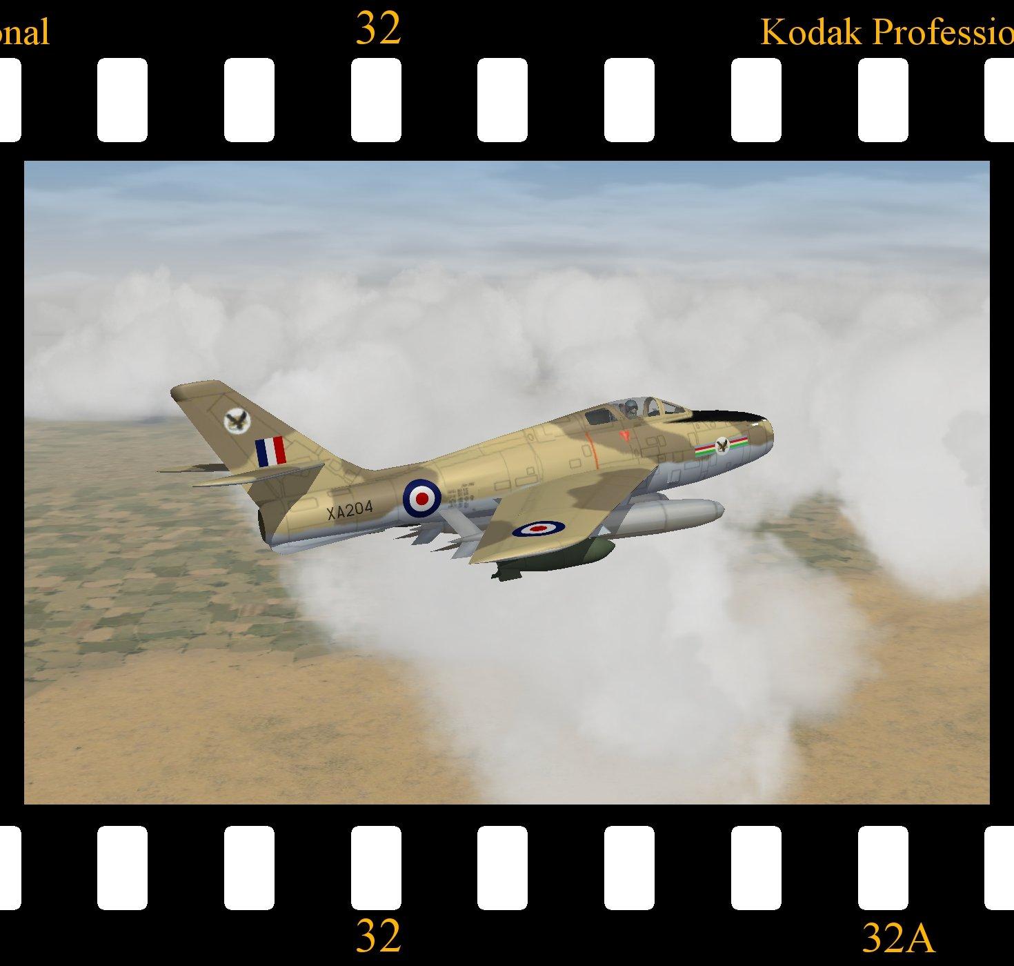 Thunderstreak FGA.1 - RAF Middle East Command