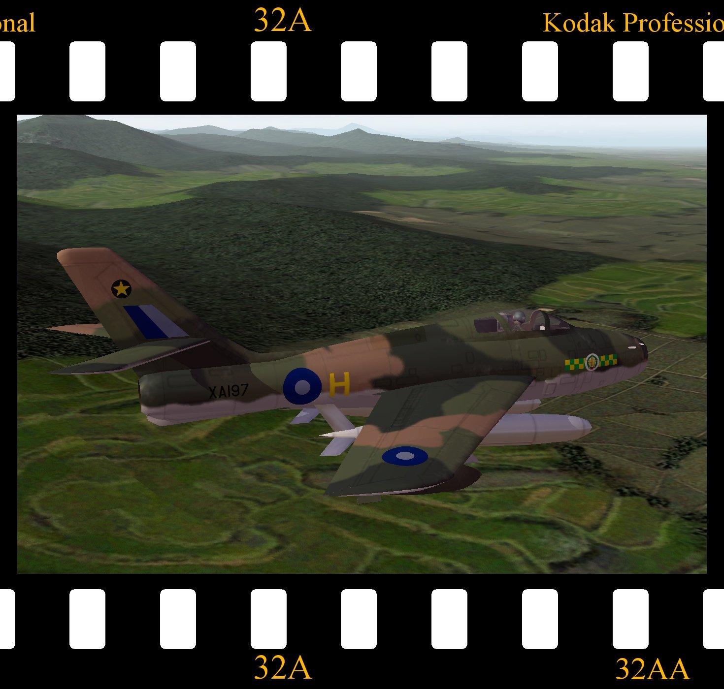 Thunderstreak FGA.2 - RAF SEAC