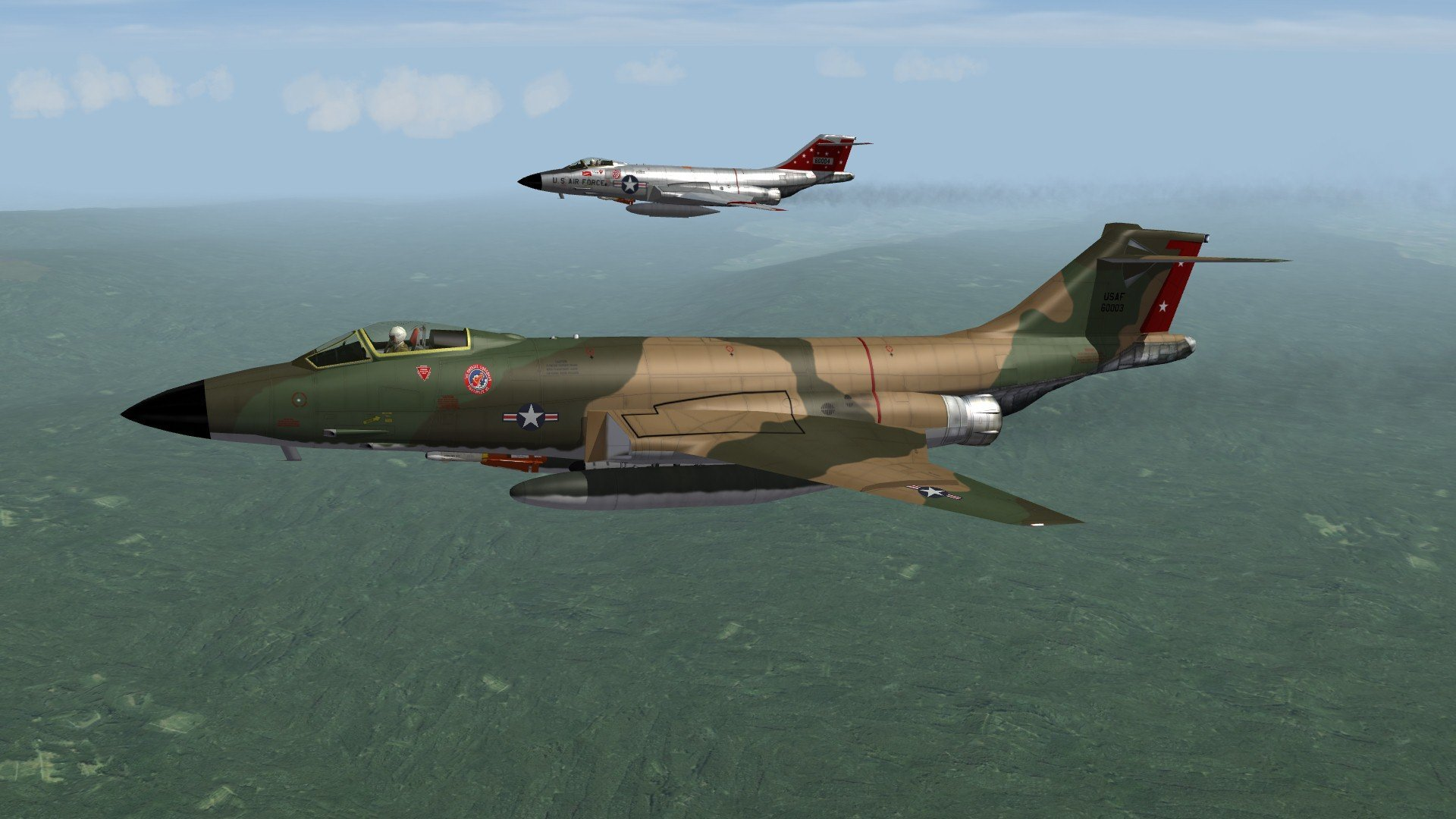 F-101 Voodoo Escort Fighter, as it was meant to be.