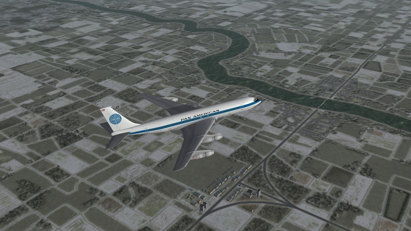 Skin Pack for TMF Boeing 707-300