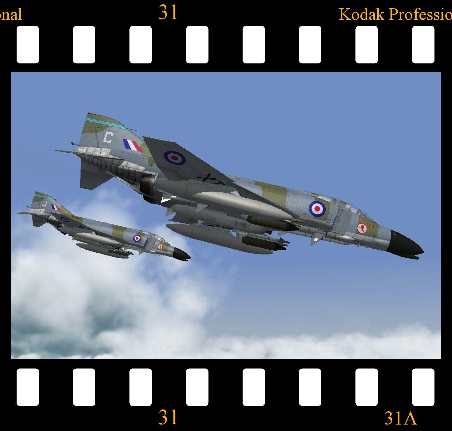 RAF Phantom FG.2 (No.38 Group)