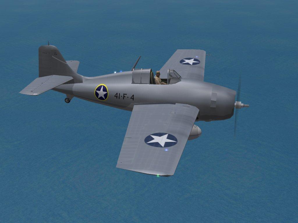 "F4F-4 Wildcat, VF-41, MTO ""Torch"""