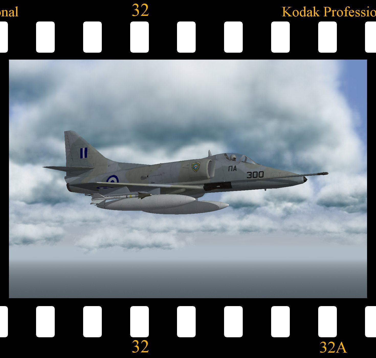 McDonnell Douglas A-4E Skyhawk 'Greece'