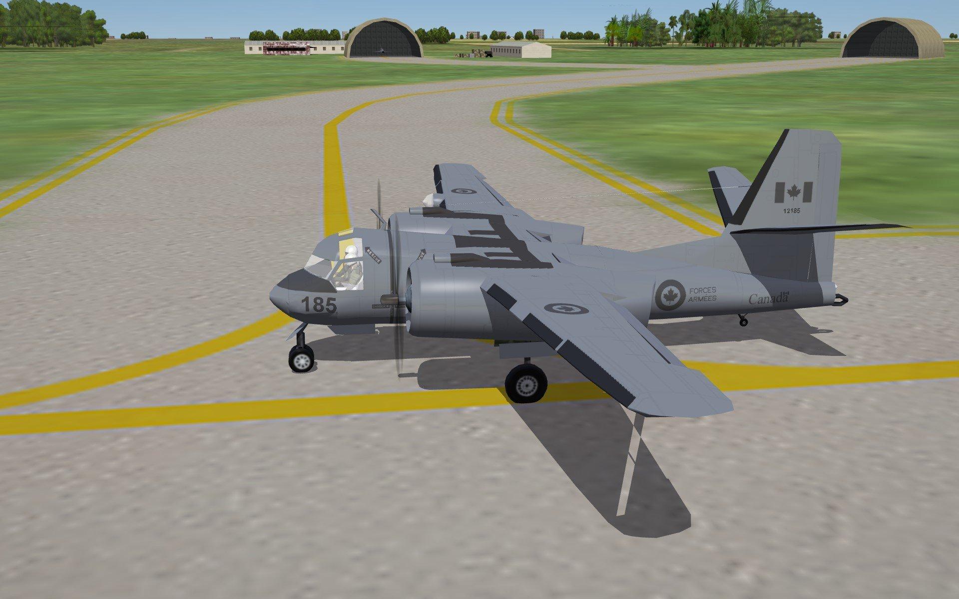 S-2F RCAF Skin pack (CP-121) + layered template