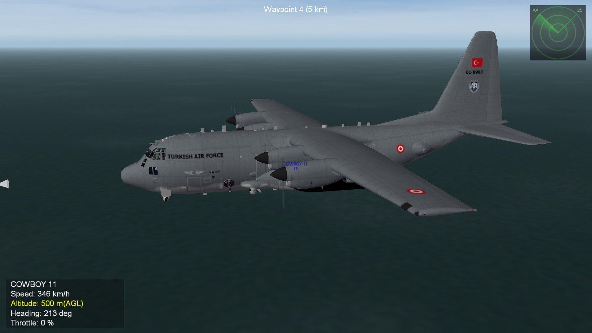 Turkish Air Force AC-130U Spooky