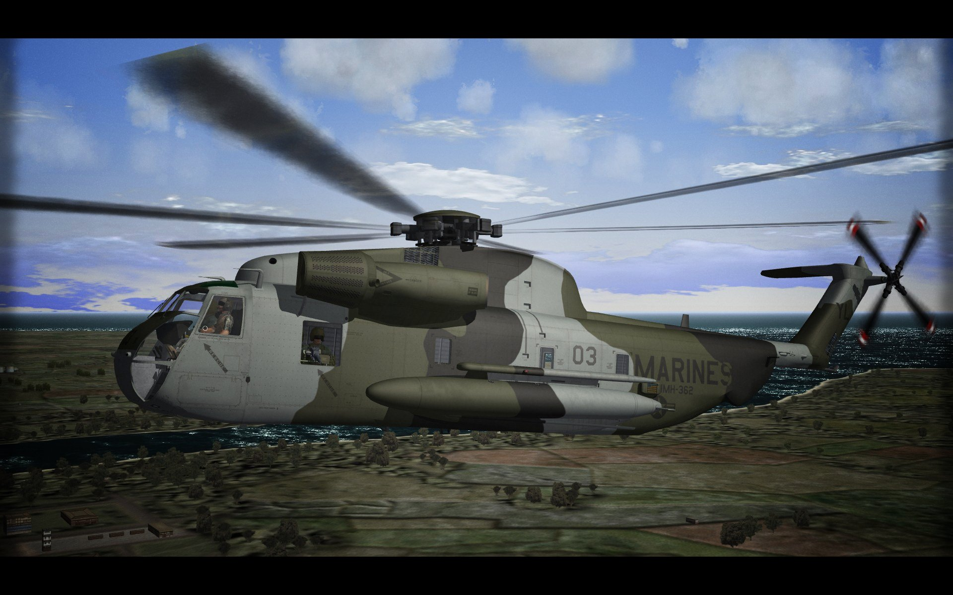 Sikorsky CH-53D Sea Stallion (late)
