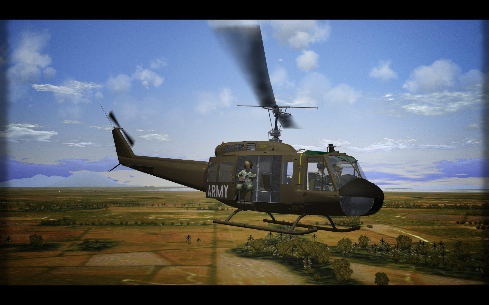 UH-1H Huey. SF2. V1