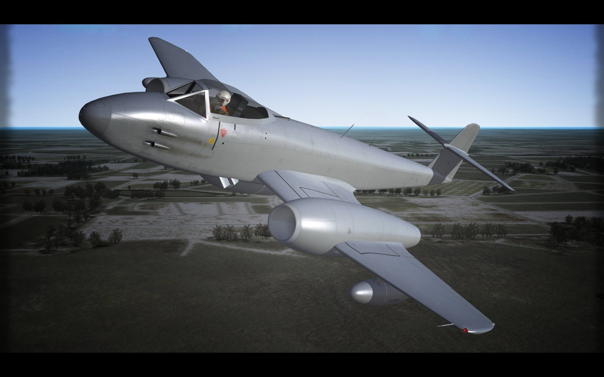 Gloster Meteor F.8 -Template-