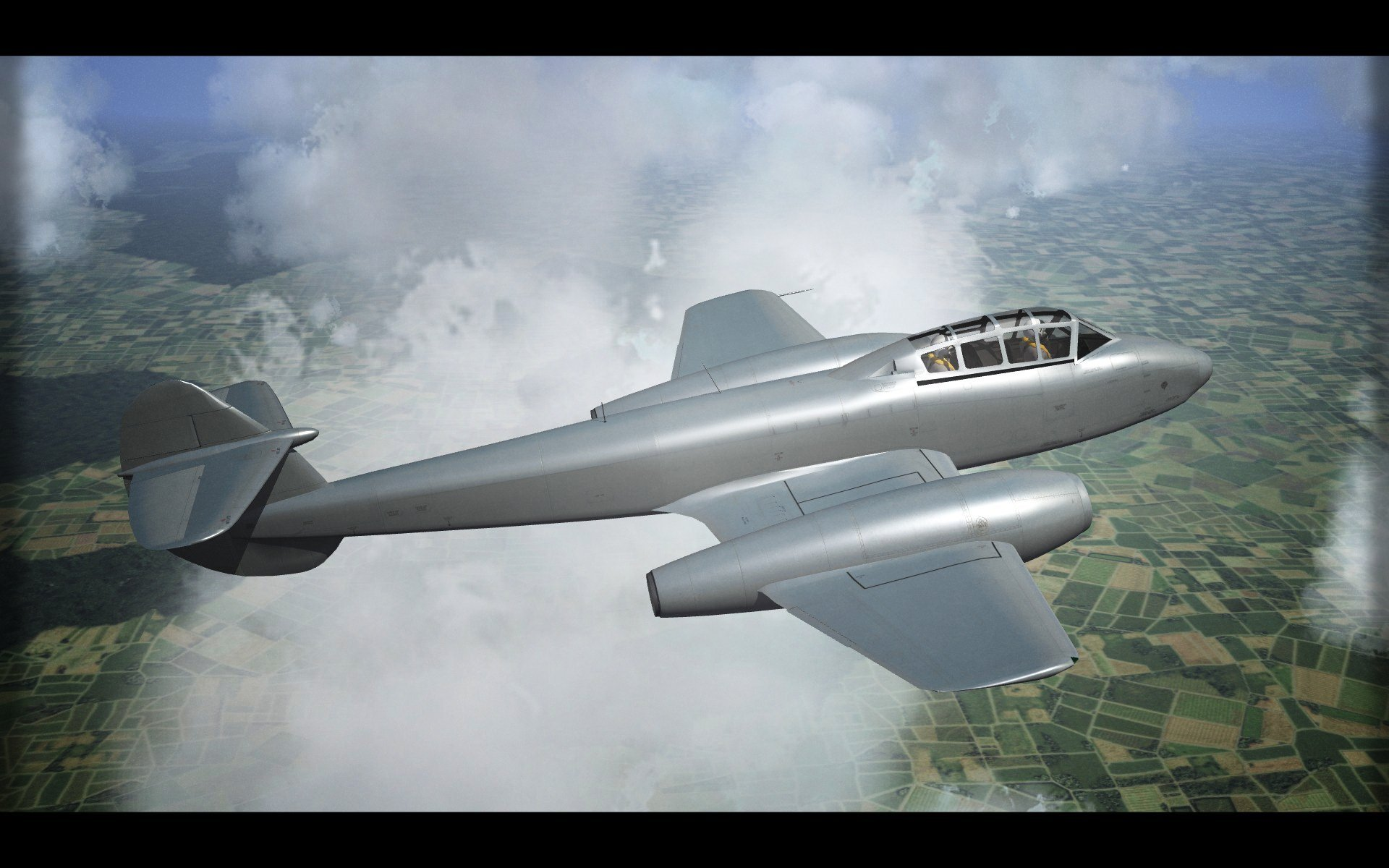 Gloster Meteor T.7 -Template-