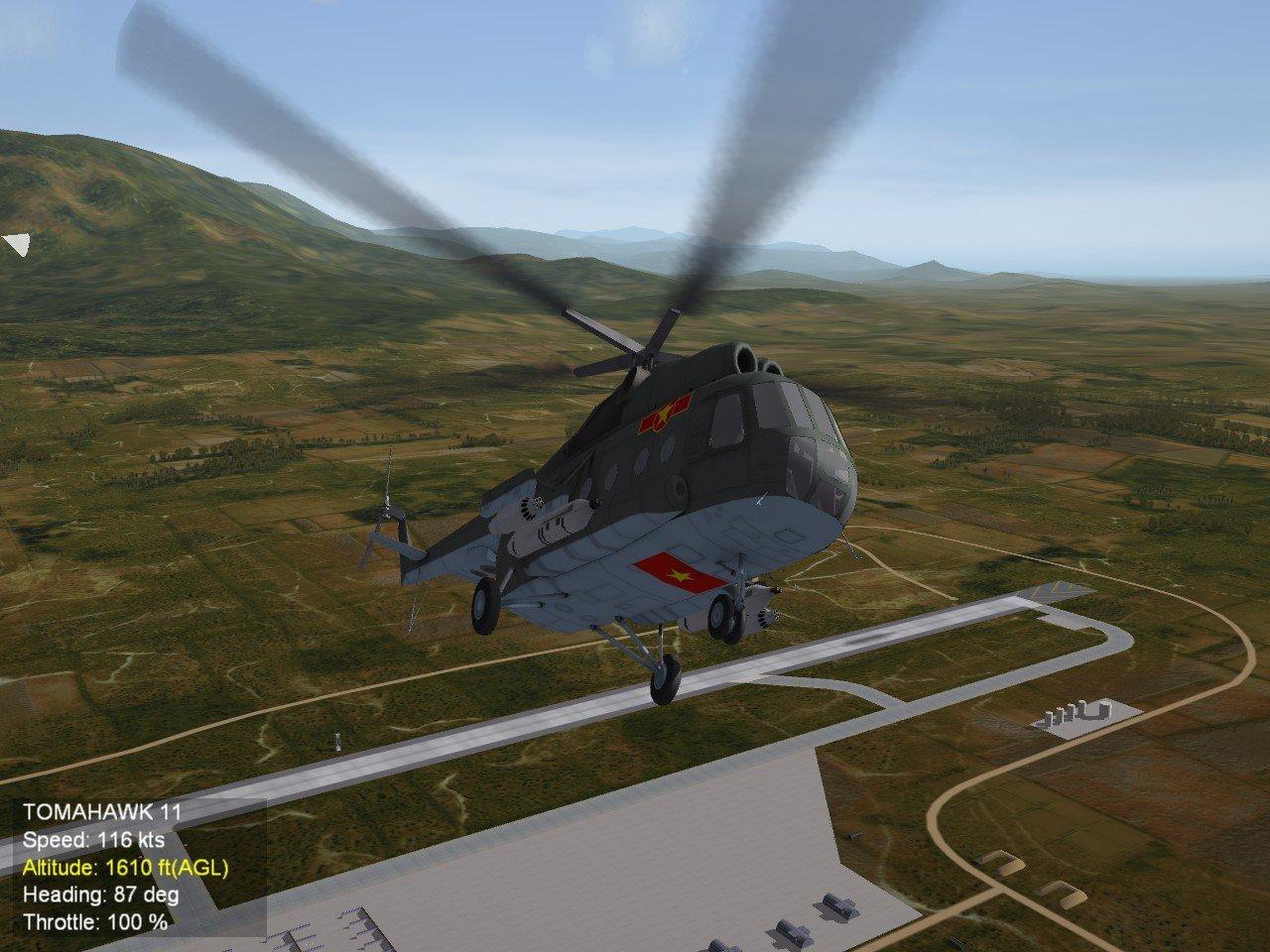 Mi-8 VPAF Skin