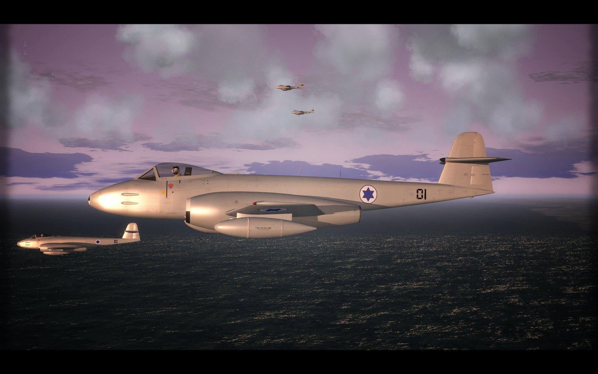 Meteors Over Israel. SF2.
