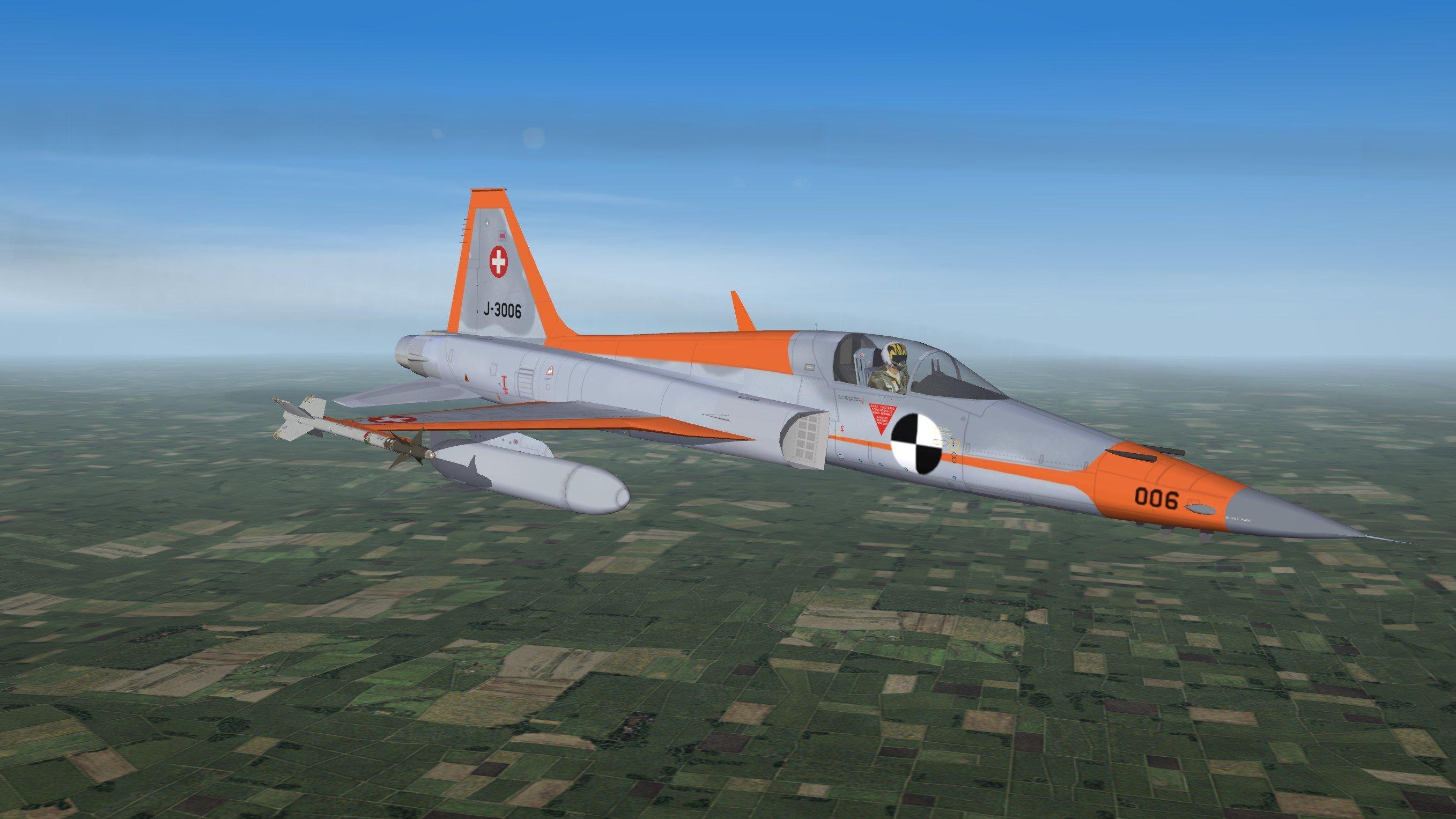 Schweizer Luftwaffe F-5/F  Tiger II