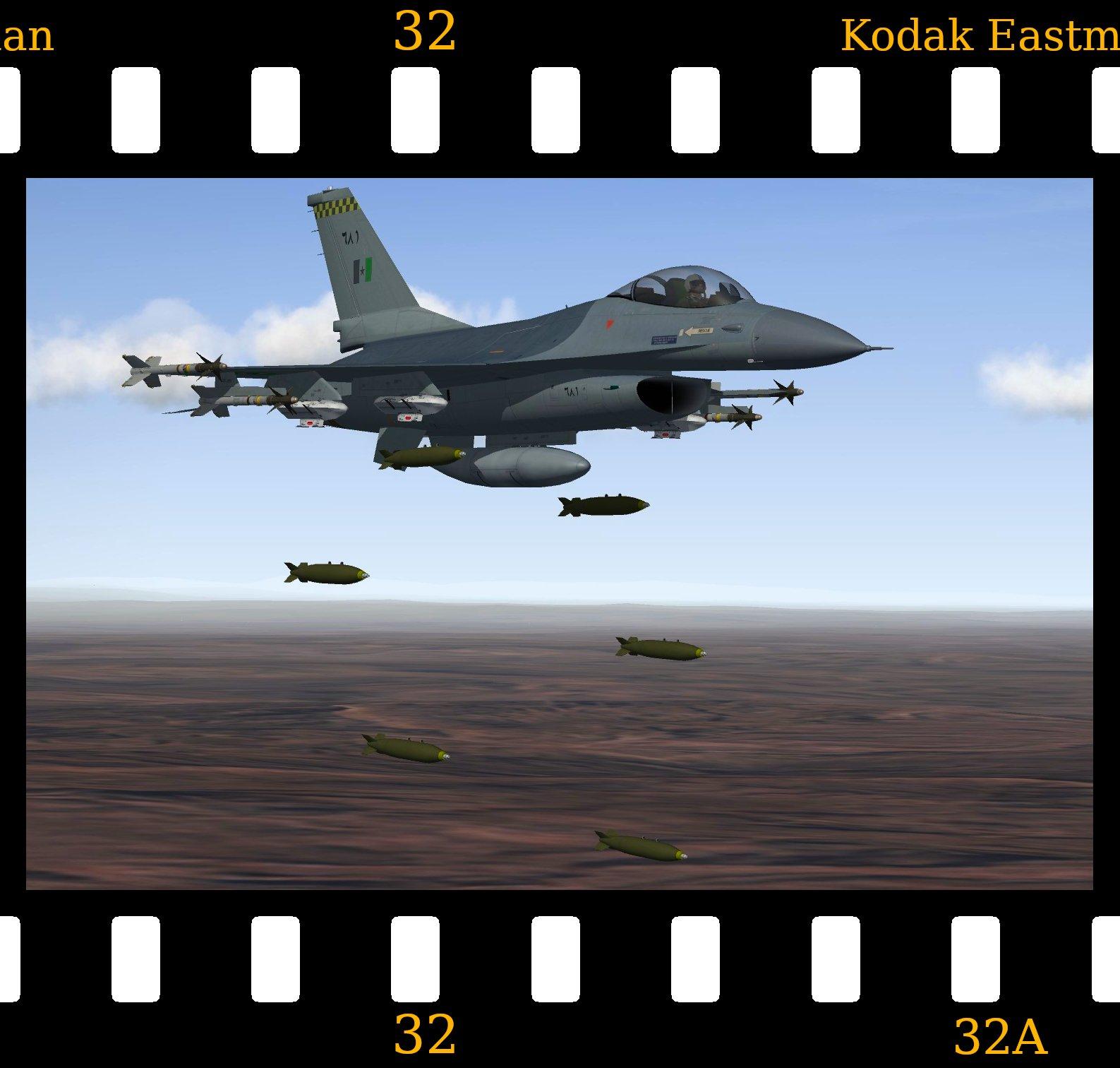 [Fictional] General Dynamics F-16A 'Dhimar'