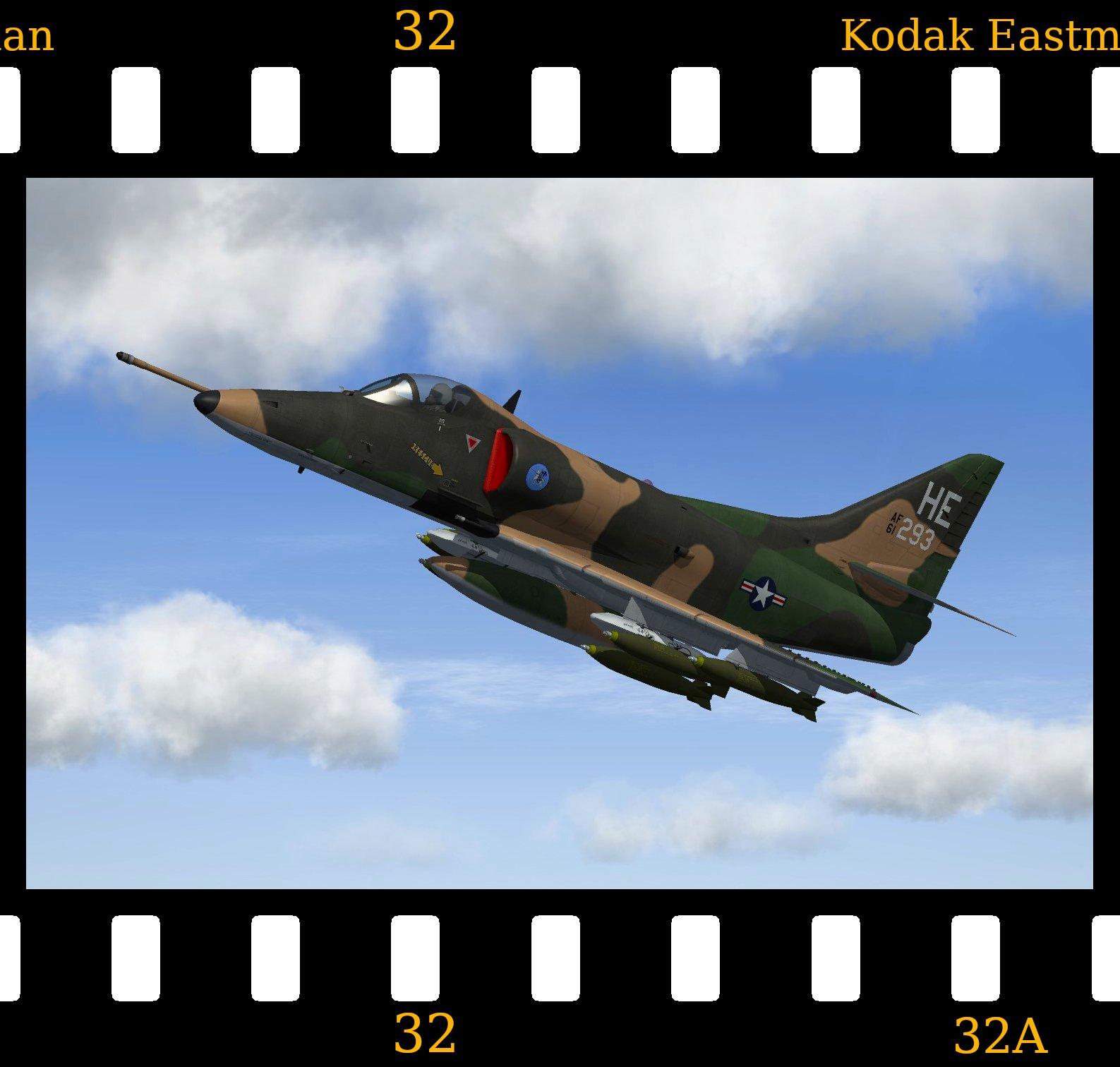 [Fictional] Douglas A-4D Skyhawk 'USAF'