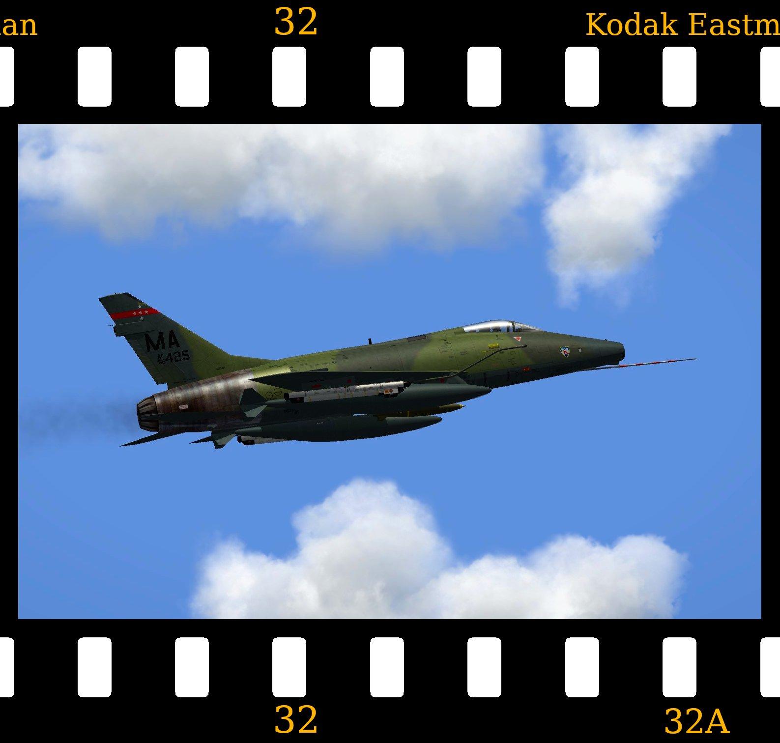 Fictional] North American F-100G Super Sabre - Thirdwire