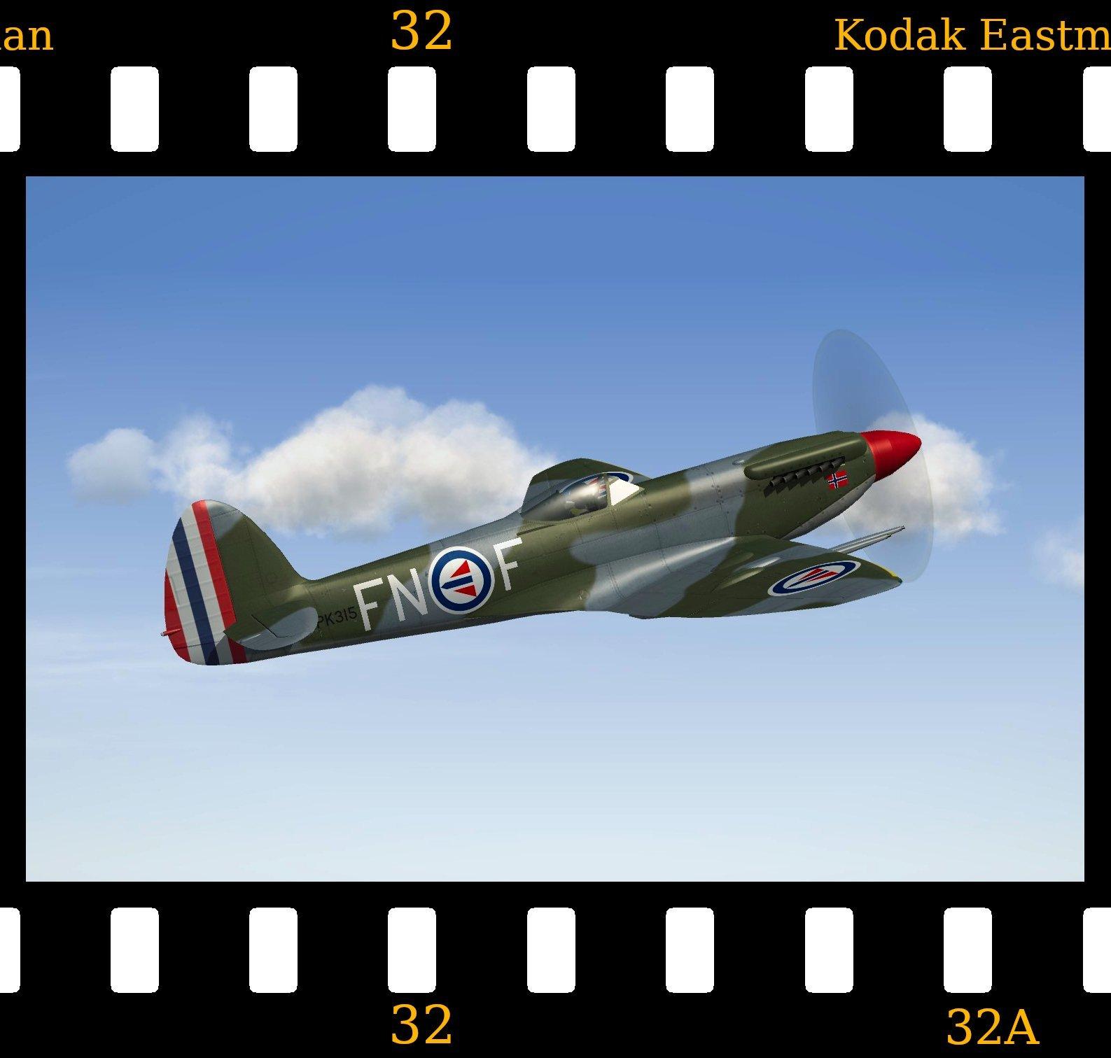 [Fictional] Supermarine Spitfire F.Mk22 'Norway'