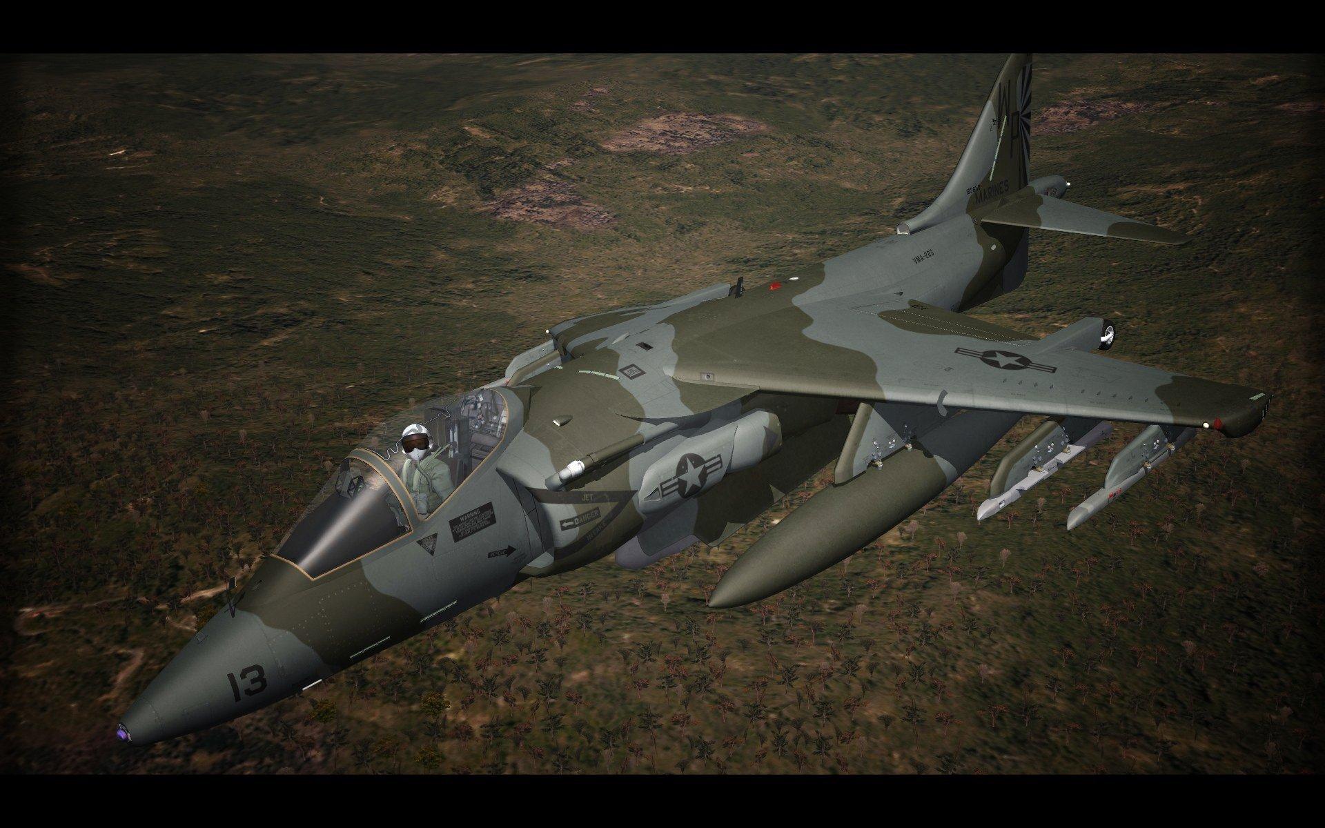AV-8B Harrier II - SF2. ver.2019
