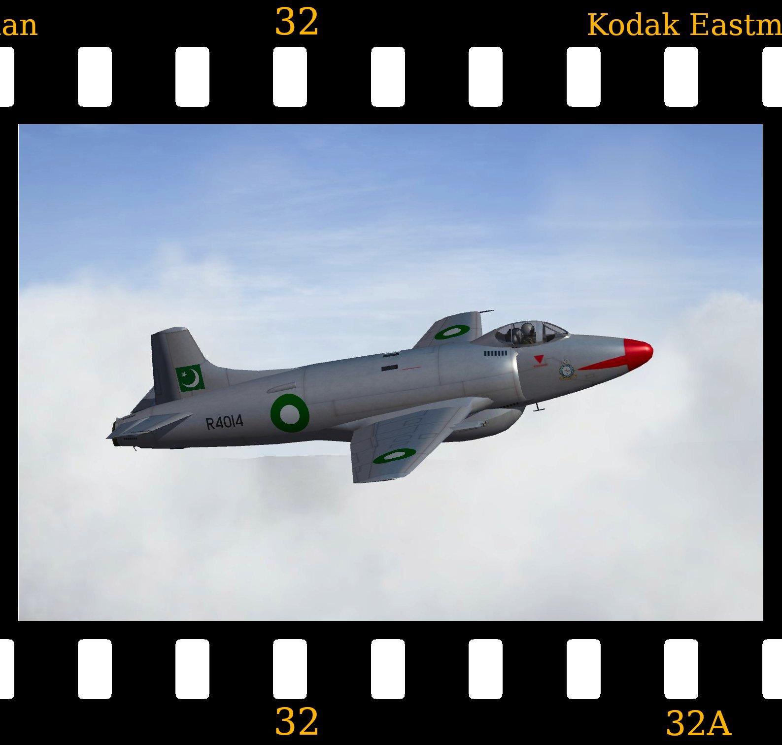 Supermarine Attacker FB.1 - Pakistan Air Force