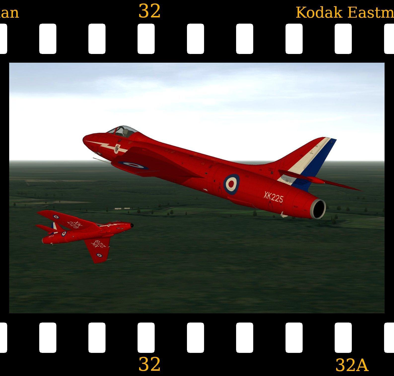 [Fictional] Hawker Hunter F.6 'Red Arrows'