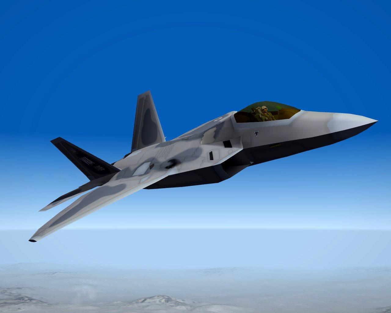 F-22A Global Strike Raptor