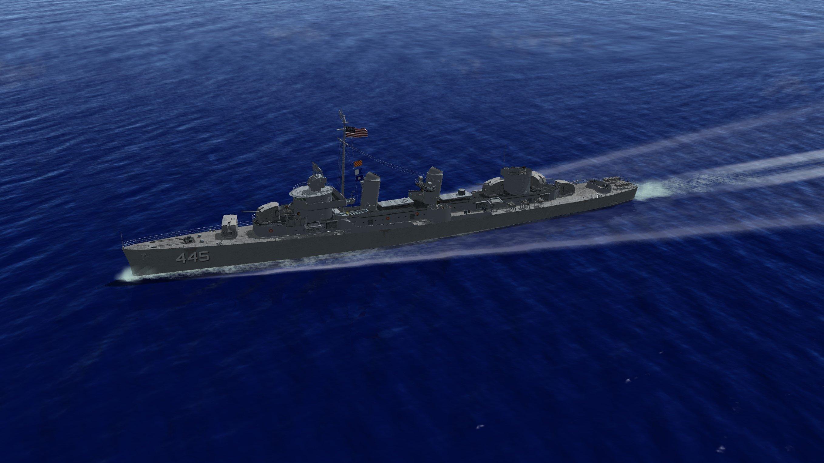 USS Fletcher Destoyer Class (*)