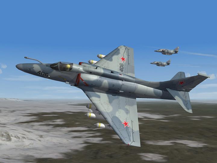 Aggressor Camo Skin for A-4F '74 (fictional)